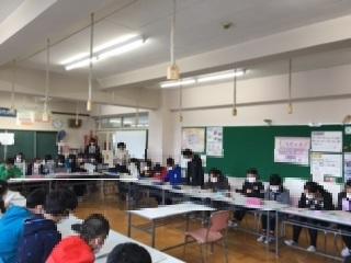 東柴又小学校模擬裁判