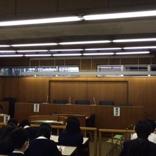 専修大学松戸・附属高等学校模擬裁判