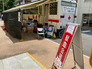 東京上野ライオンズクラブ献血ボランティア活動~台東区役所~