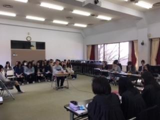 立教女学院高模擬裁判