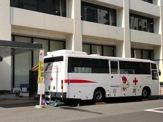 東京上野ライオンズクラブの献血~台東区役所~