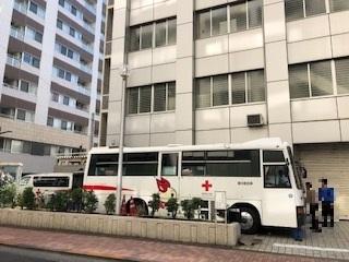 東京上野ライオンズクラブ献血ボランティア活動~上野警察署~